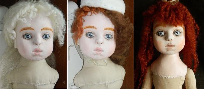 прическа для куклы (700x305, 61Kb)