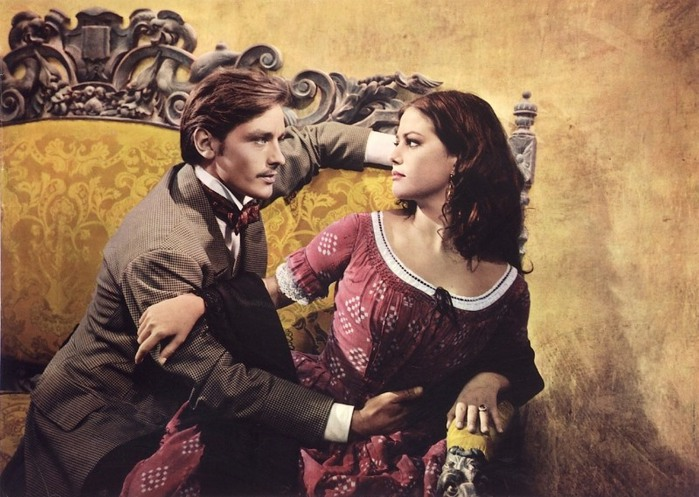 Леопард  кадр из фильма  Ален Делон и Клаудиа (700x497, 111Kb)