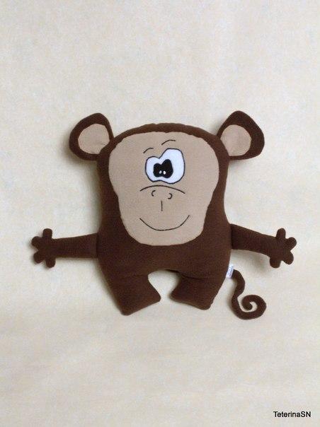 Подушка обезьянка своими руками на новый год