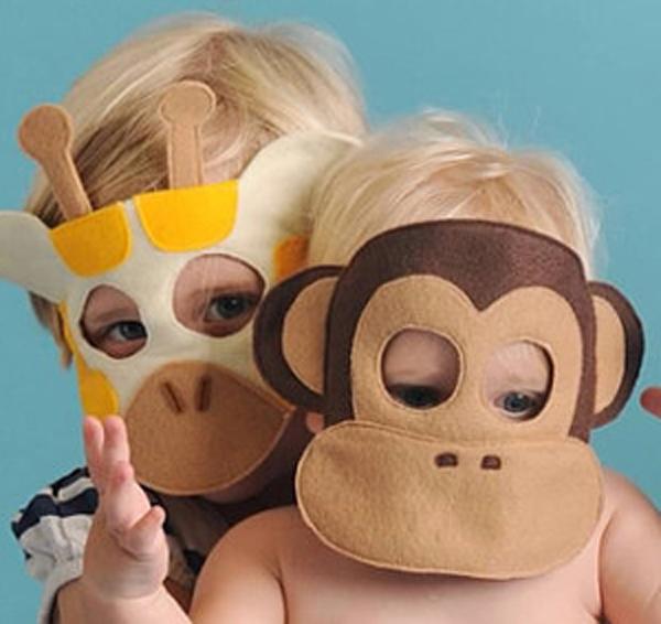 Маска обезьянки своими руками