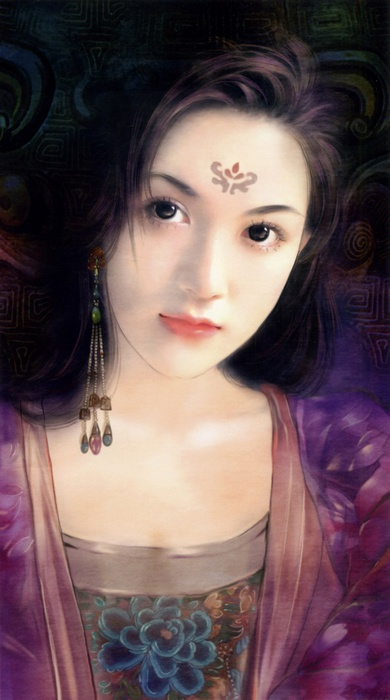 2835299_Chinese_Paintings_of_girls_ (390x700, 83Kb)