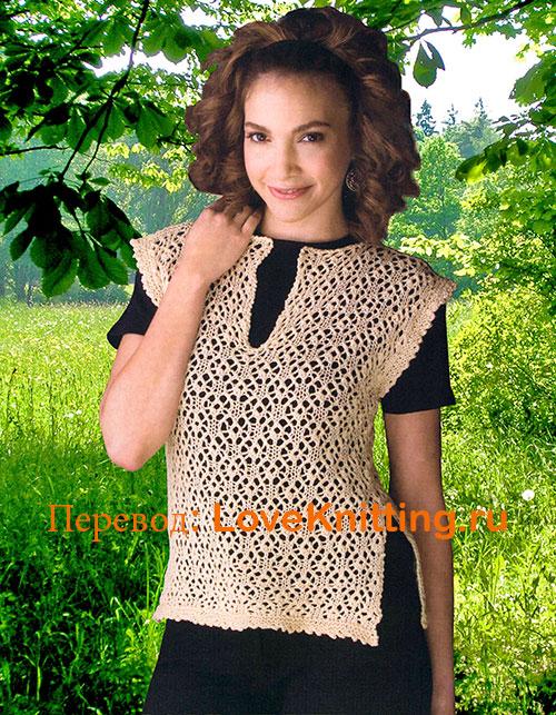 09-Ажурный-пуловер-МТ2 (500x643, 182Kb)