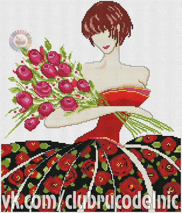 Rosa (596x700, 666Kb)