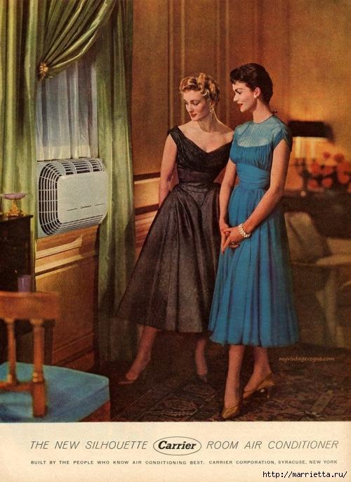 Винтажные картинки для творчества. Домохозяйки (33) (500x686, 274Kb)