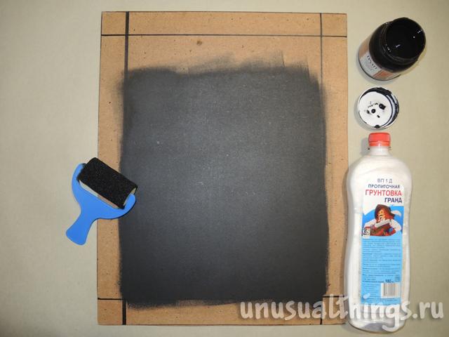 Как сделать краску для грифельной доски