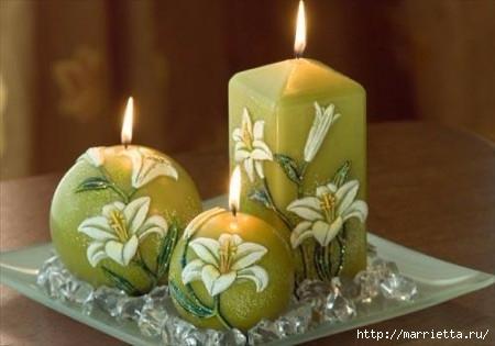 Пасхальные свечи. Для любования (3) (450x315, 76Kb)