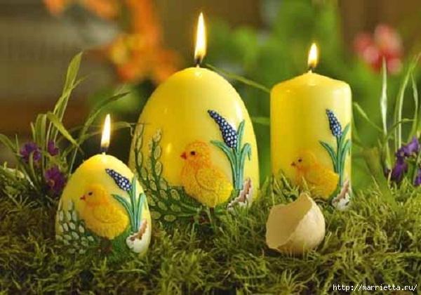 Пасхальные свечи. Для любования (9) (600x420, 156Kb)