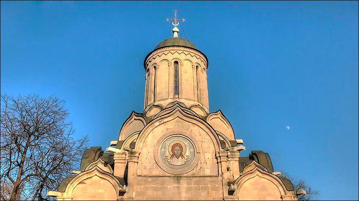 Спасский храм Спасо-Андроникова монастыря