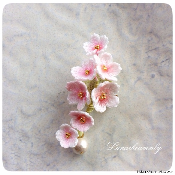 钩针:最美丽的灵感(太美了) - maomao - 我随心动
