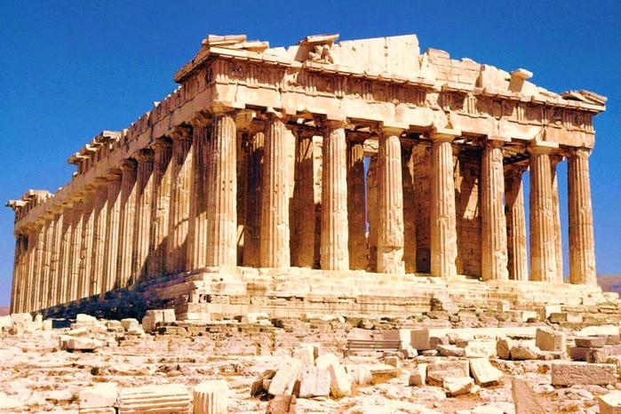Афины (Греция) - Акрополь (700x466, 467Kb)