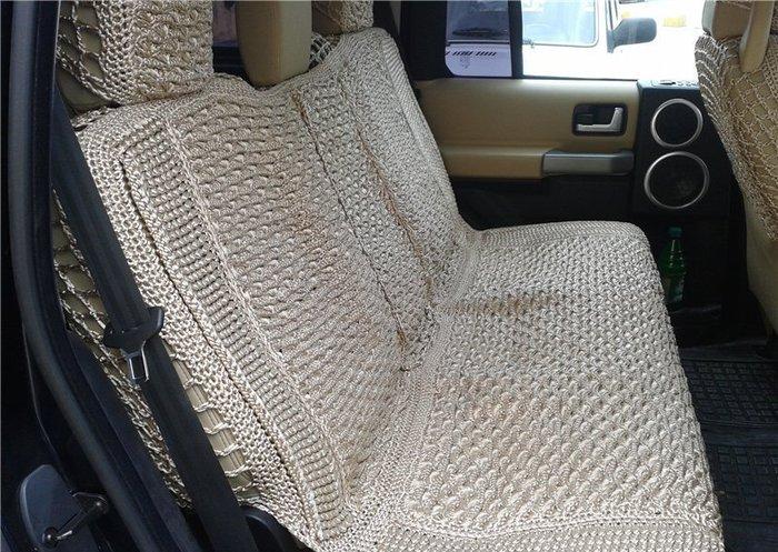 Чехлы для авто вязаные