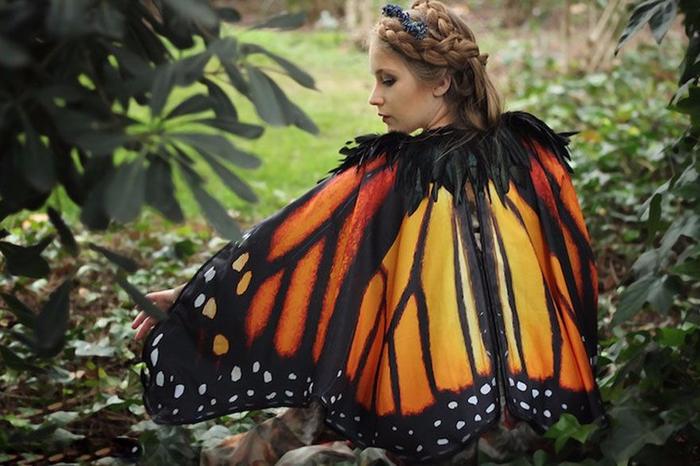 плащи в форме крыльев бабочек 1 (700x466, 363Kb)