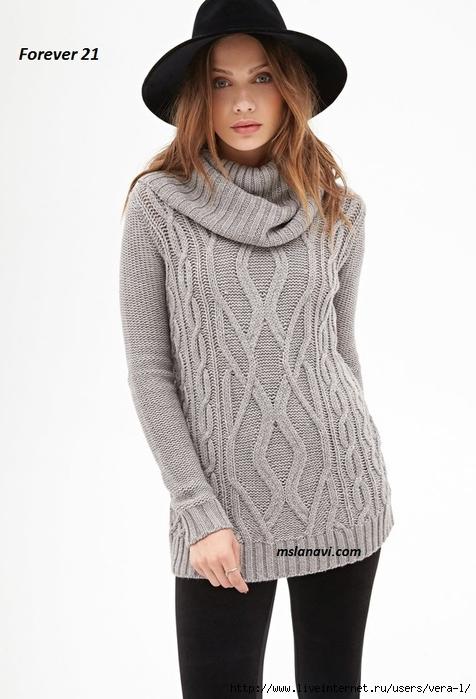 Вязаные-пуловеры-спицами-2 (476x700, 170Kb)