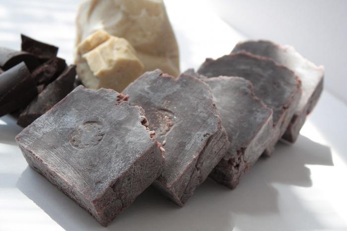 Мыло натуральное шоколадное Брауни nonna-smetanina
