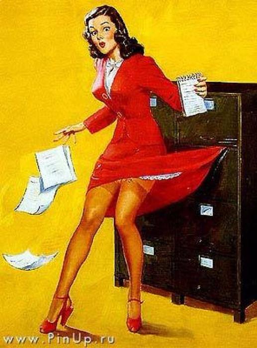 пинап секретарша4 (517x700, 389Kb)