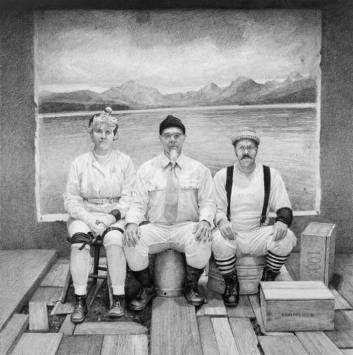 рисунки карандашом Итан Мурроу 1 (697x700, 268Kb)