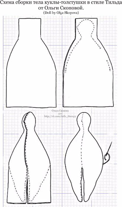 Схема сборки тела (414x700, 191Kb)