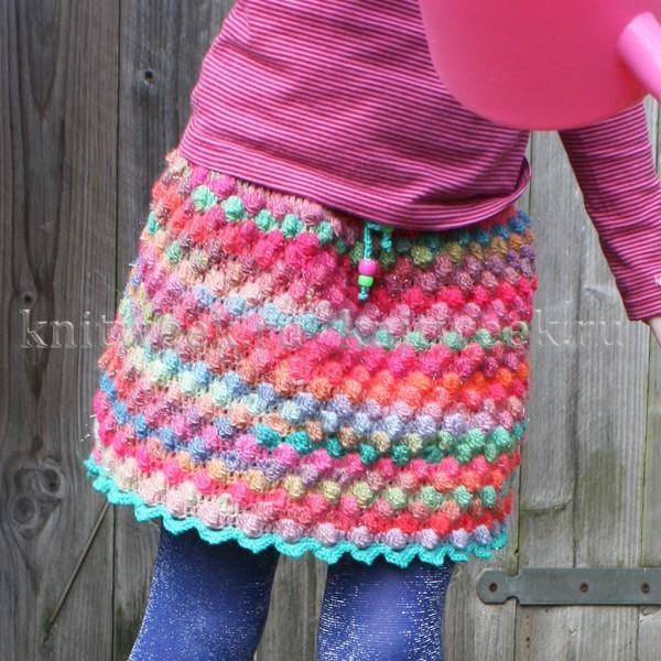 Вязания Юбки Для Девочек