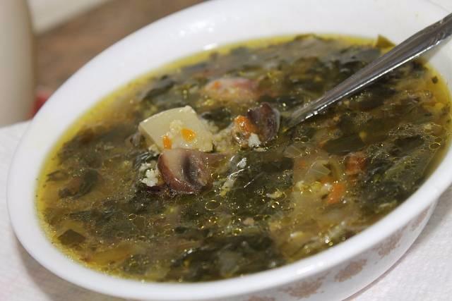 Рецепт щавель суп