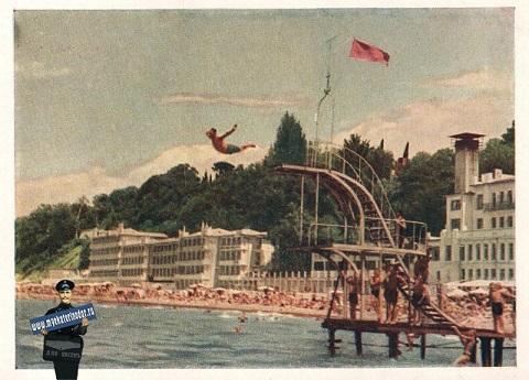 sochi-sochi-plyazh-u-sanatoriya-rivera-1956-god (480x345, 82Kb)