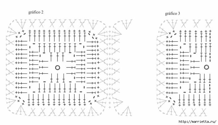 Платье крючком из черных квадратов с белой обвязкой (4) (700x400, 149Kb)