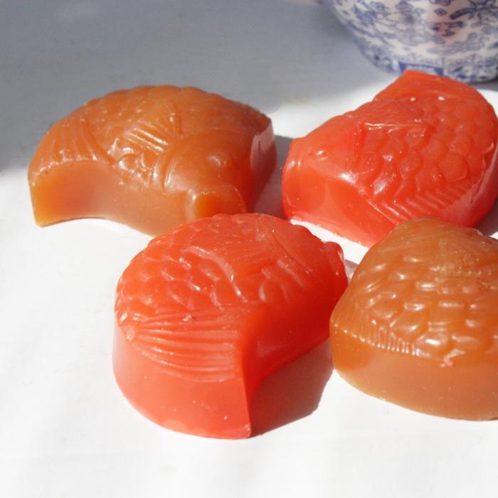 Натуральное мыло глицериновое Императорский карп - nonna-smetanina