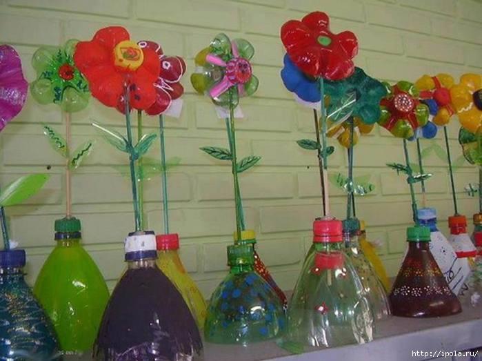 Поделки из бутылок пластиковых 4 класс
