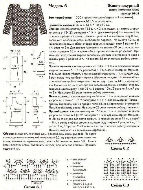 Кофты, жакеты » Вязание спицами и крючком