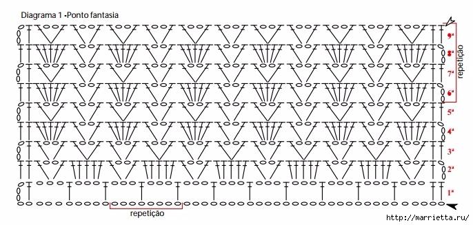 Летний топ крючком с ажурным краем (4) (686x327, 191Kb)