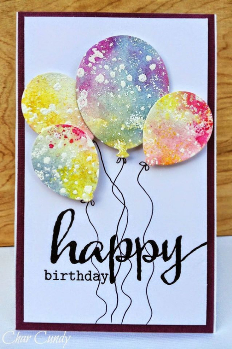Лёгкие открытки своими руками на день рождения бабушке