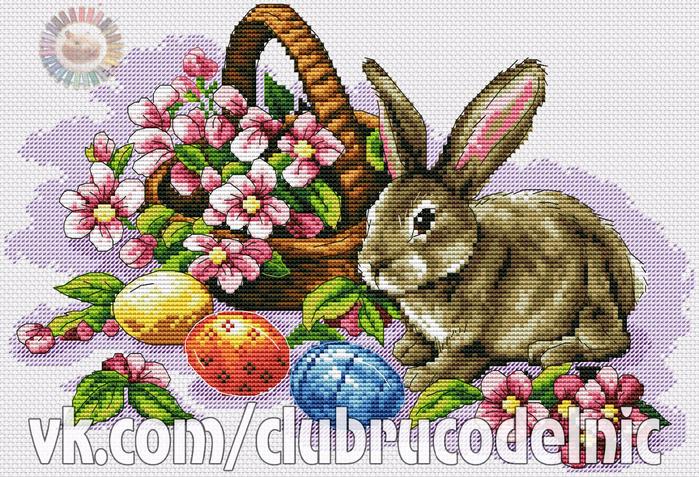 Wielkanocny zajaczek (700x477, 579Kb)