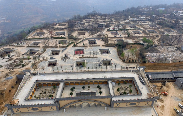 пещерные дома Яодонг 1 (700x446, 656Kb)