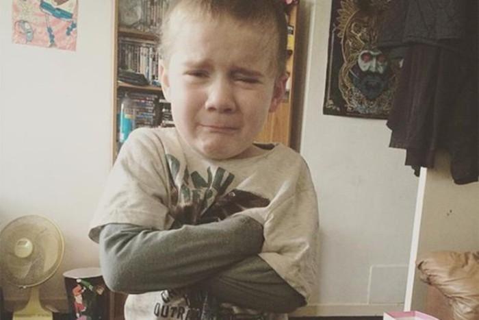 Капризные дети недовольны своими родителями— смешные фото #Худшийродитель