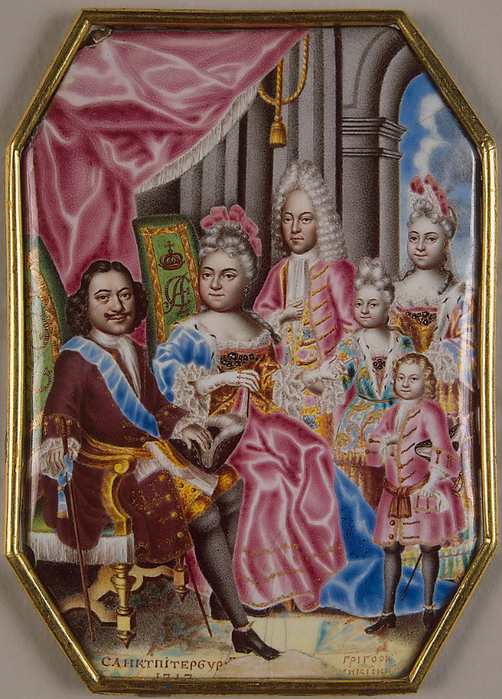 09 Family_of_Peter_I_of_Russia_by_G.Muskiyskiy_(1716-7,_Hermitage) (502x700, 485Kb)