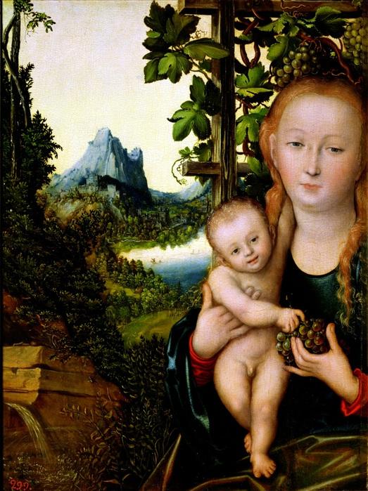 Lucas_Cranach_d.?._-_Madonna_mit_Kind_(ca.1520) (523x700, 179Kb)