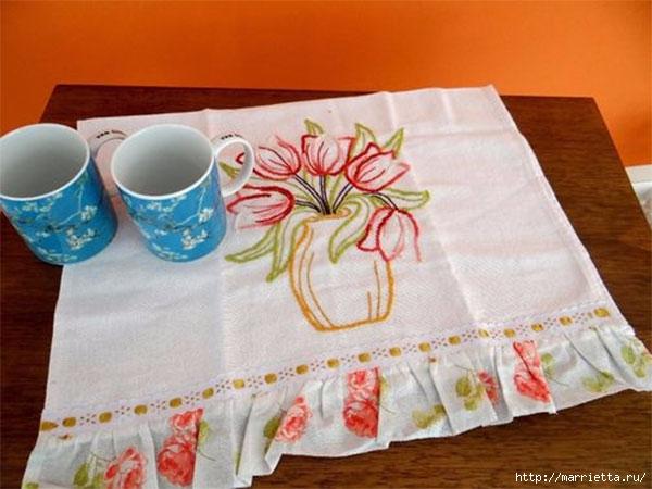 Ваза с тюльпанами. Вышивка для полотенца (1) (600x450, 151Kb)