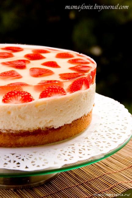 Торт-мусс Клубника в шампанском. 2 рецепта (1) (432x650, 207Kb)