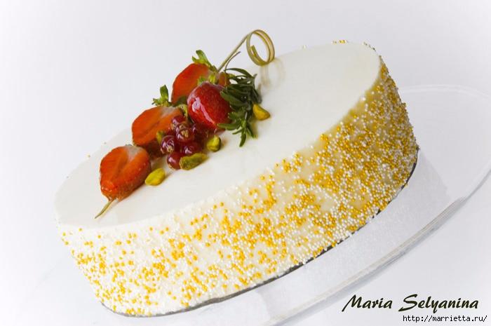 Торт-мусс Клубника в шампанском. 2 рецепта (3) (700x465, 160Kb)