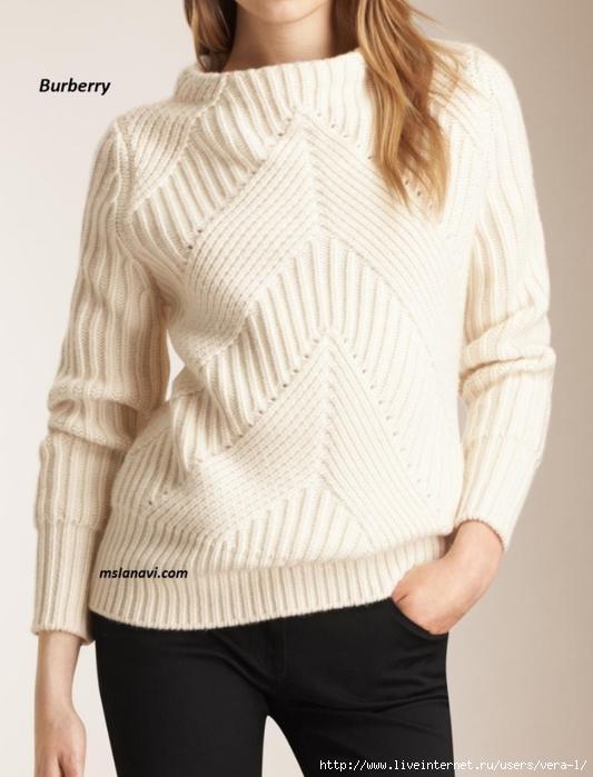 Вязаный-свитер-спицами-от-Burberry-780x1024 (533x700, 207Kb)