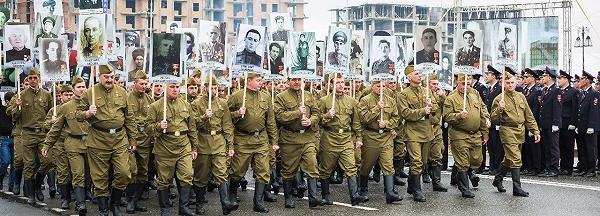 «Бессмертный полк России» 3 (600x216, 232Kb)