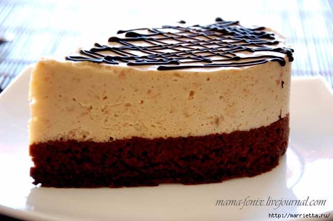 Торт-мусс Кофе по-ирландски. Рецепт (650x432, 125Kb)
