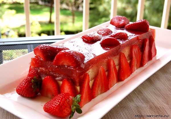 Клубничный десерт. Рецепт (2) (600x418, 153Kb)