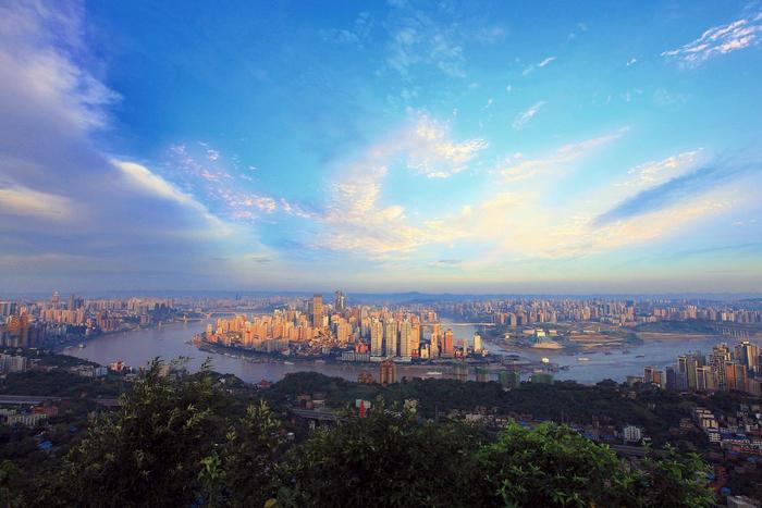 китайский город Чунцин фото 1 (700x467, 368Kb)