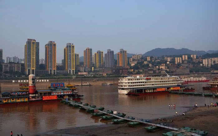 китайский город Чунцин фото 3 (700x437, 300Kb)