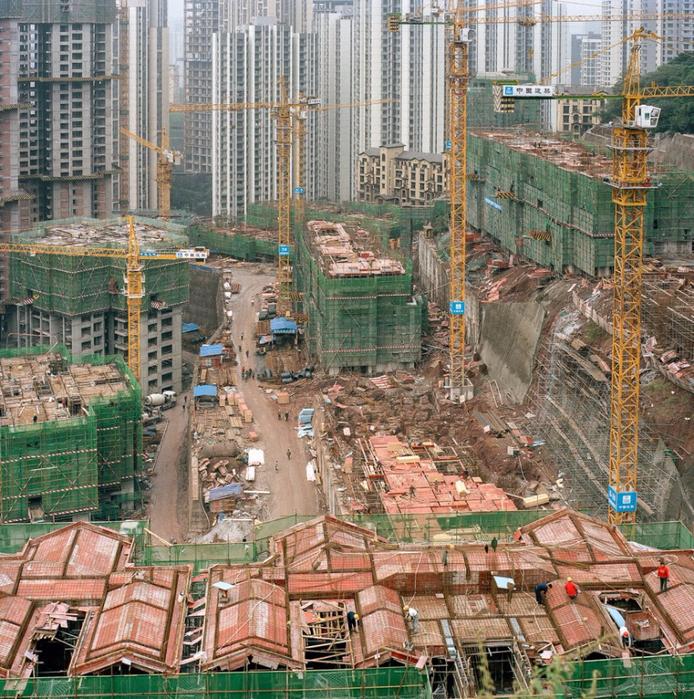 китайский город Чунцин фото 7 (694x700, 692Kb)