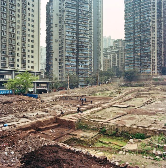 китайский город Чунцин фото 9 (694x700, 656Kb)