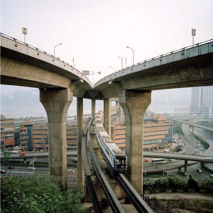 китайский город Чунцин фото 14 (697x700, 523Kb)