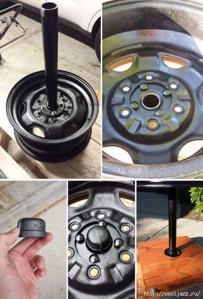 мангал из автомобильных дисков11 (410x604, 171Kb)