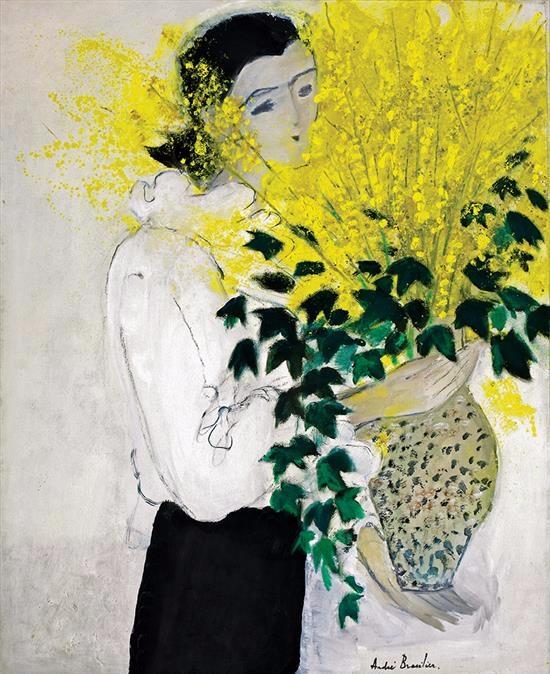 Bouquet of forsythia (550x674, 375Kb)