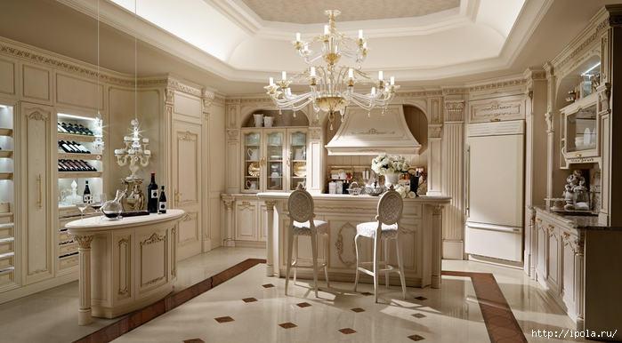 "alt=""Современная классика в дизайне кухни – красота и практичность.""/2835299_Sovremennaya_klassika_v_dizaine_kyhni__krasota_i_praktichnost_1 (700x386, 154Kb)"